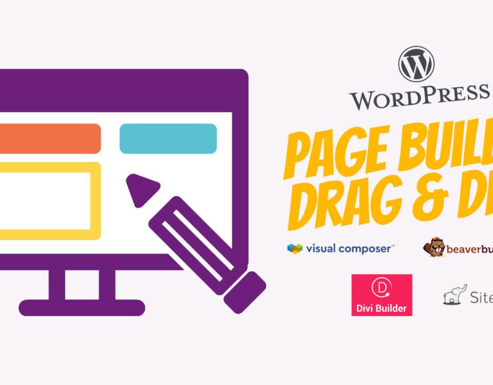 Wordpress Page Builder Vorteile Nachteile Top 5 WordPress Plugins Drag Drop