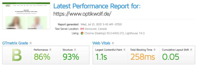 Wordpress Seite Schneller Machen Wp Webseite Woo Woocommerce Shop Page Speed Optimierung Ladezeit Gtmetrix Nachher