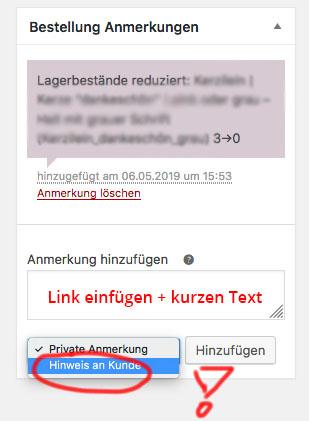 Wordpress Shop Woocommerce Hinweis An Kunden Bemerkung Kontakt Paypal Plus Fehler Hilfe Loesung