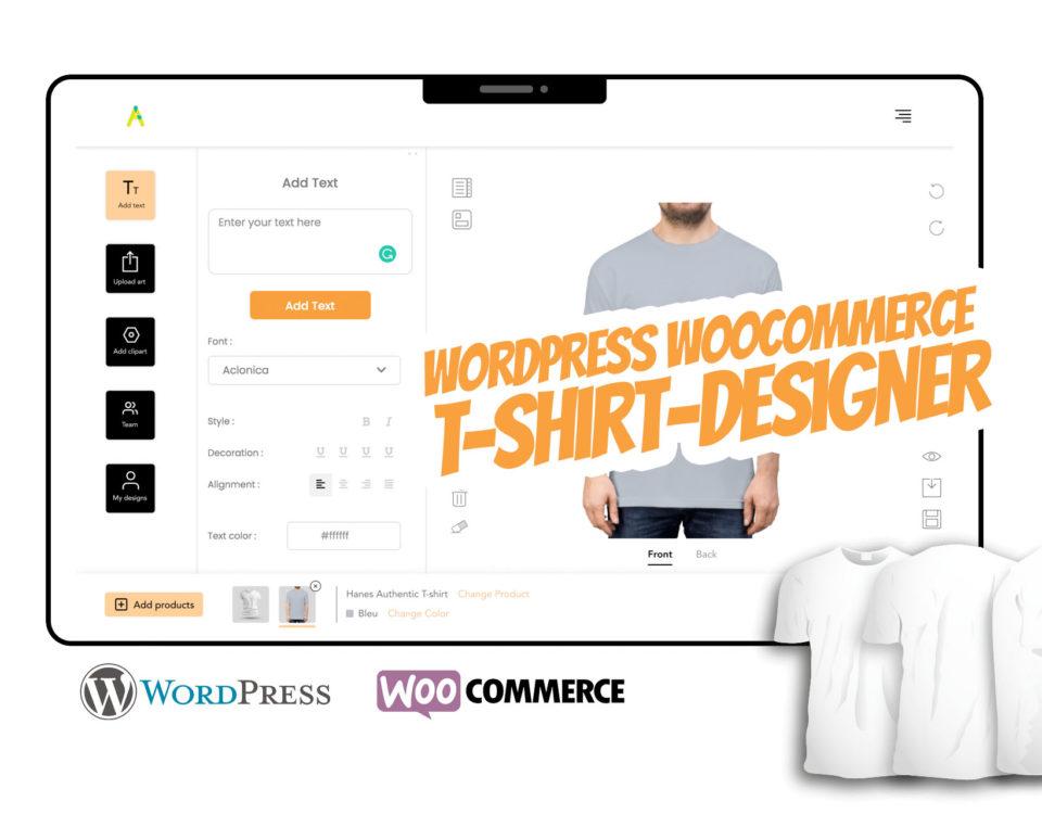 Wordpress T Shirt Designer Woocommerce T Shirt Design Plugin Modul