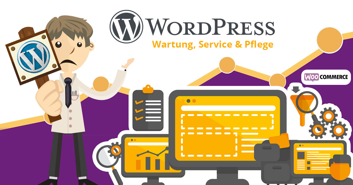 Wordpress Wartung Woocommerce Wartung Service Hilfe Pflege Wp Sicherheit Updates Backup