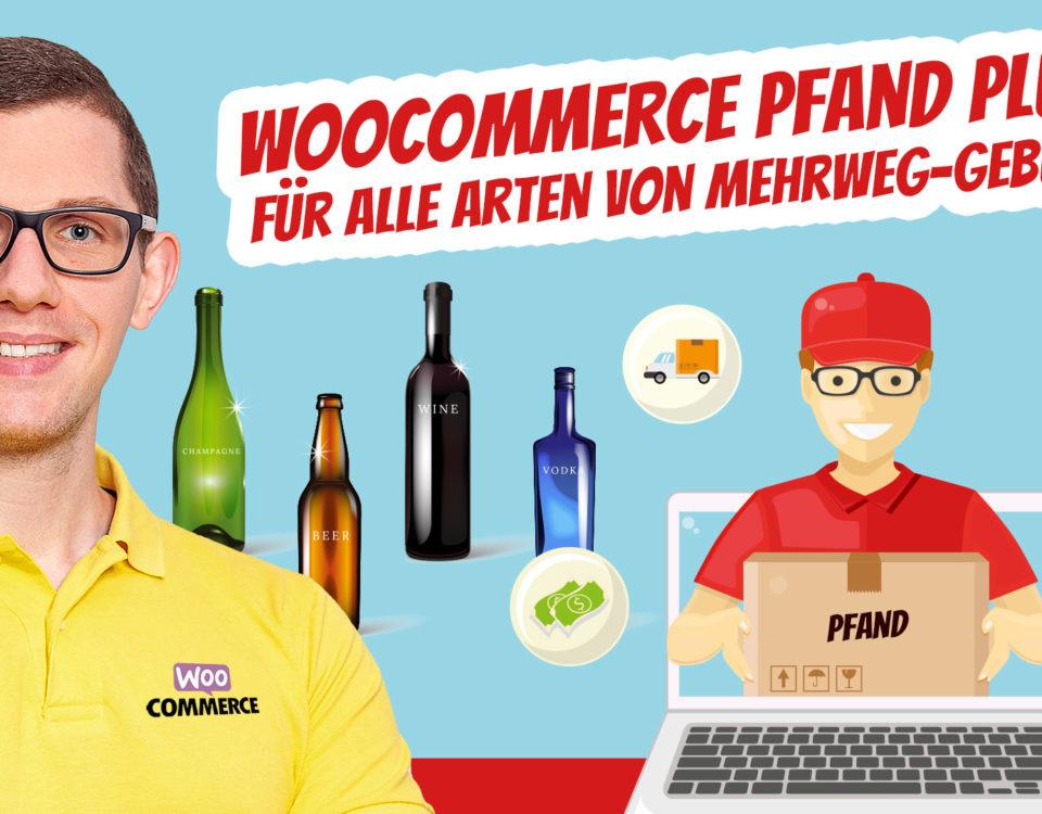 Wordpress Woocommerce Pfand Plugin Berechnen Flaschenpfand Deposit Gebuehr