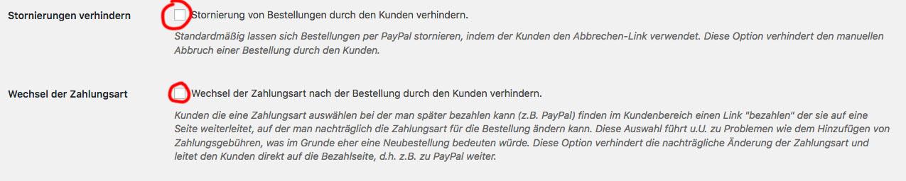 Wordpress Woocommere Germanized Paypal Zahlung Problem Ausstehend Abbruch Loesung