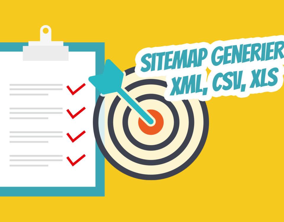 Xml Sitemap Csv Xls Konvertierung Weiterleitungen Relaunch Einfach